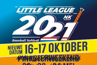 NK Little League uitgesteld